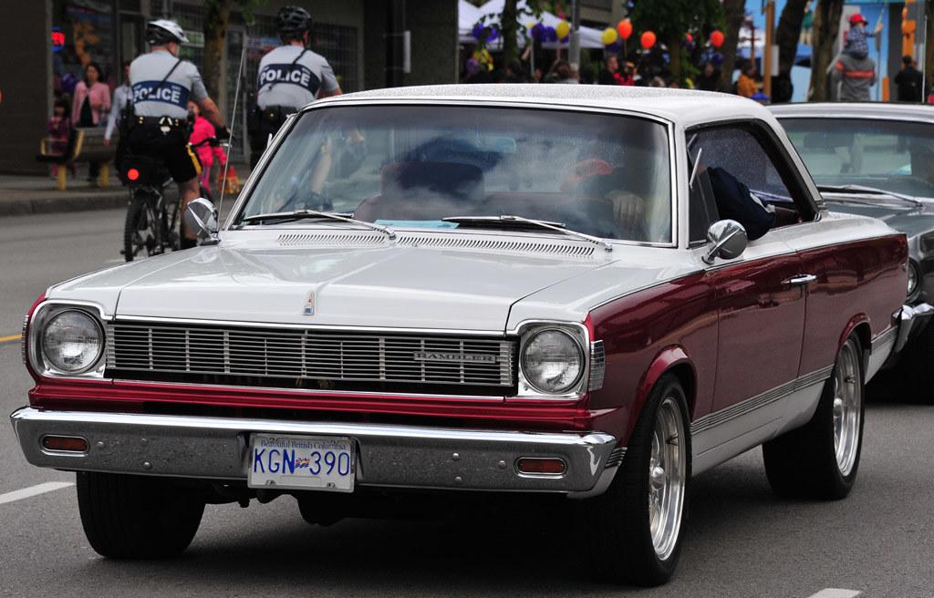 1967 rambler rogue 2 door hardtop 343 v8 top line rogue