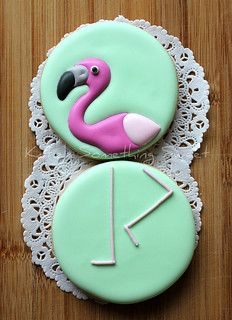 Flamingo Cookie | by Katie's Something Sweet