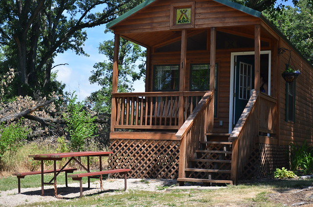 Click It Rv >> Starved Rock KOA Cabin | Flickr - Photo Sharing!