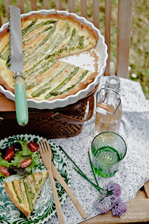 Asparagus-Quiche-0026-wm | by Meeta Wolff @ What's For Lunch, Honey?