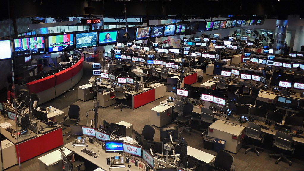 Cnn Newsroom David Flickr