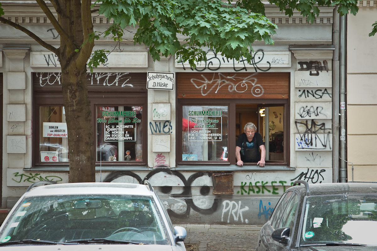 Schuhmacherei, Berlin