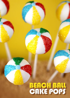 Beach Ball Cake Pops | by Bakerella