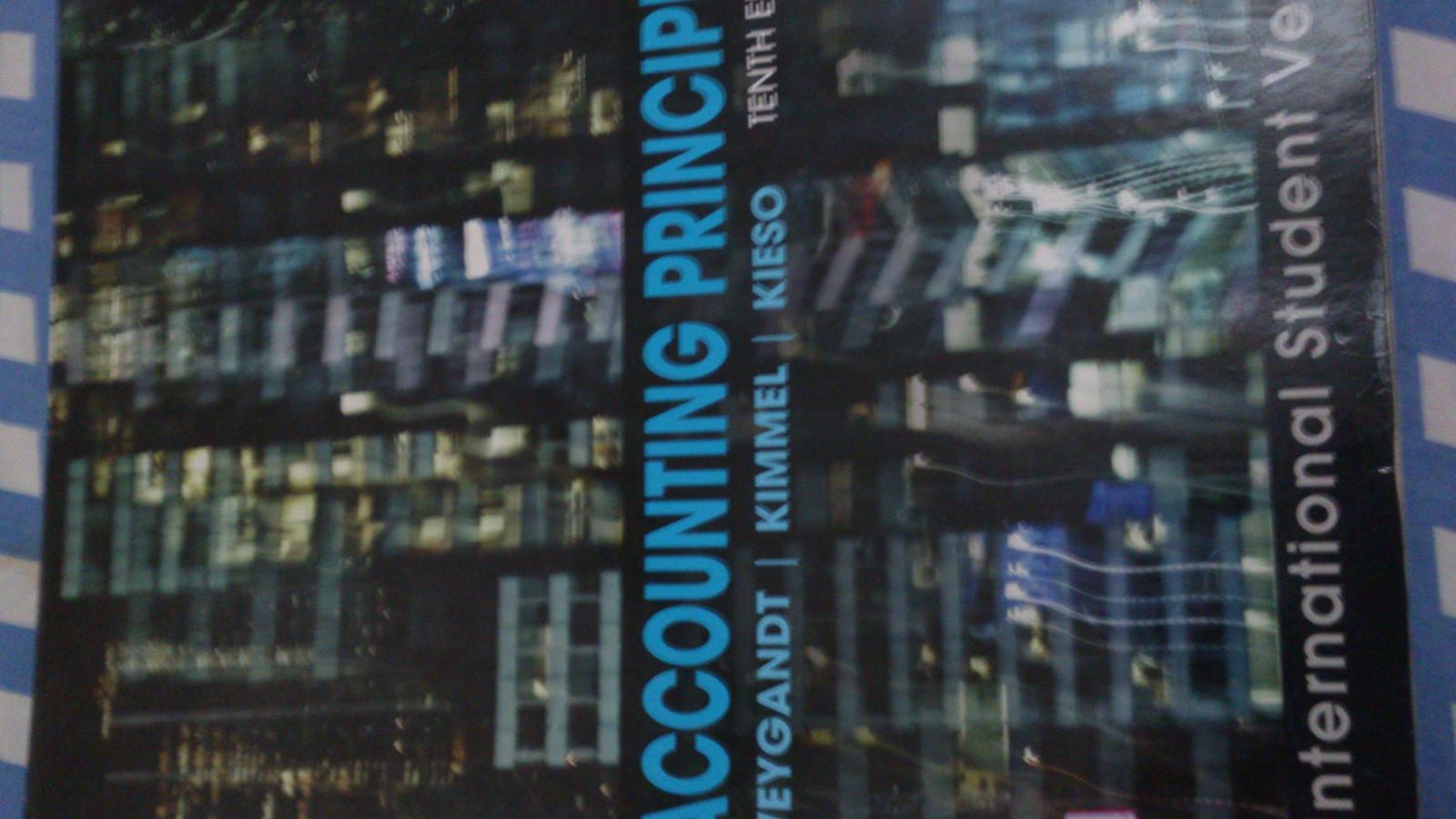 accounting principles 10th edition