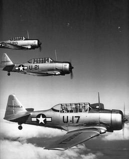 North American SNJ-5 | by San Diego Air & Space Museum Archives