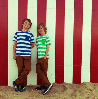 Jack & Lewis, Weymouth beach | by Nicki Fitz-Gerald