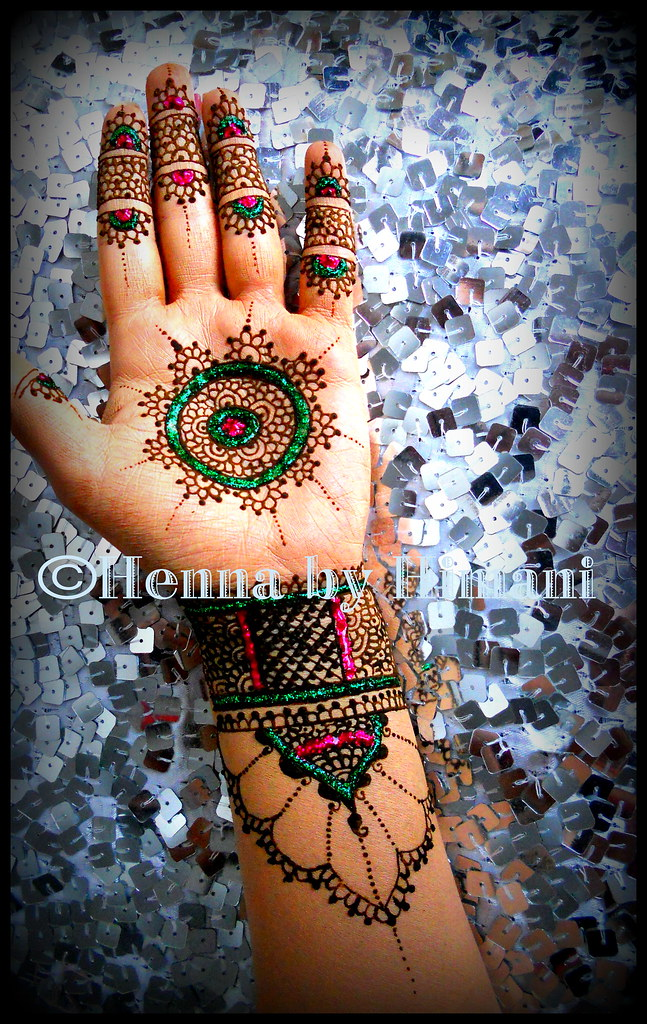 Moroccan Henna Art My Henna Mehendi Is Natural And Made Fr Flickr