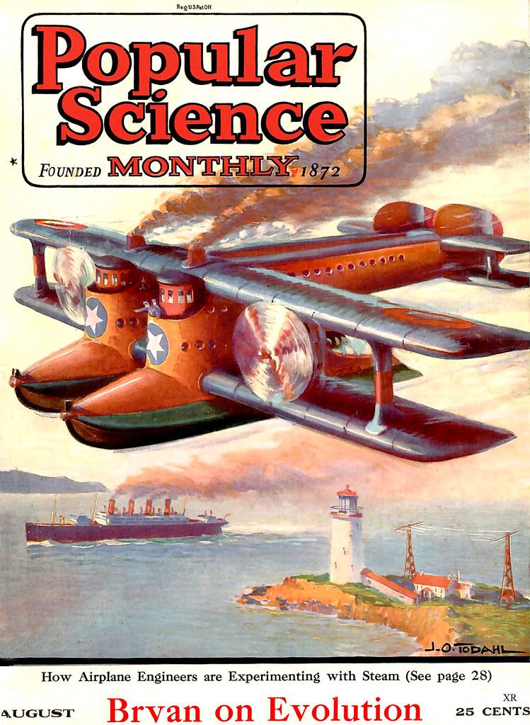 1923 ... steam powered plane! | James Vaughan | Flickr