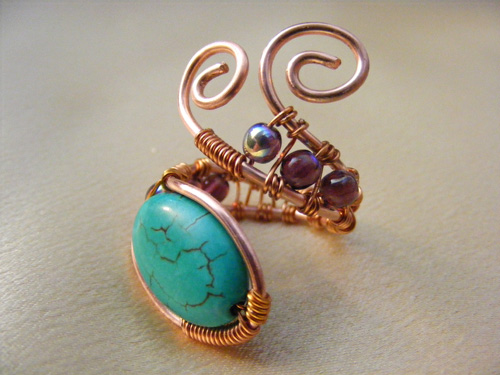 turquoise ring | by La Belle Helene - Gallery