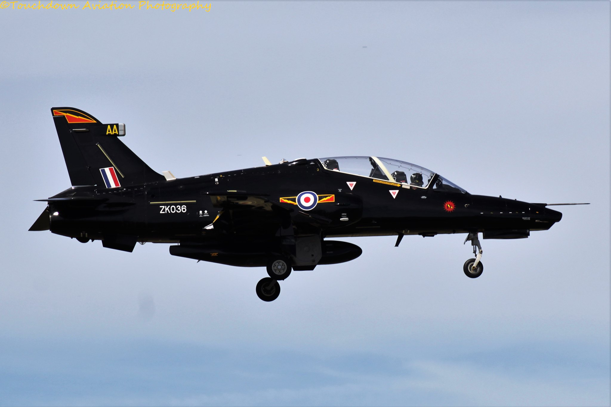 Royal Air Force Hawk T.2 ZK036 23AUG16