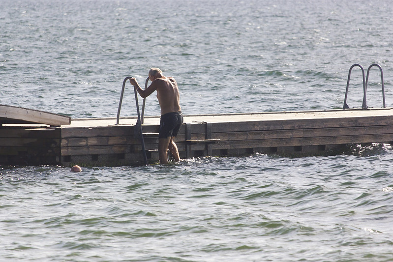 Nothing like a brisk swim