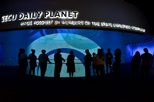 Inside the SECU Daily Planet | by North Carolina Museum of Natural Sciences