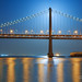 Super Lunar Eclipsing - Bay Bridge, San Francisco