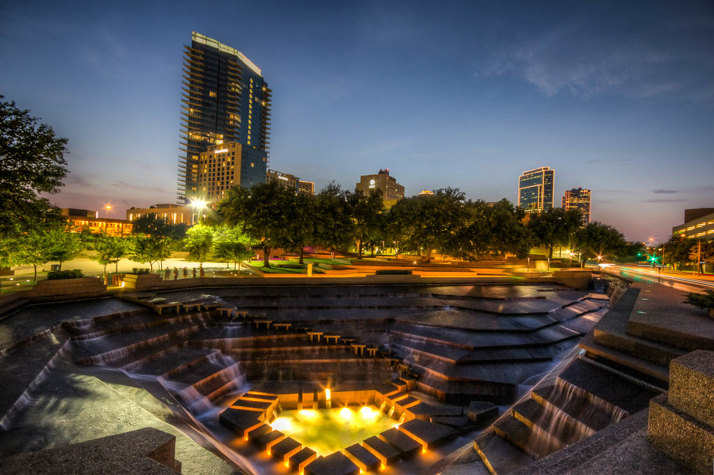 Fort Worth Water Gardens Aaron Sarauer Flickr