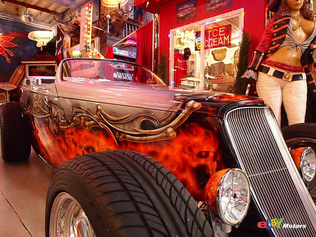 Sparky 39 s garage sparky 39 s hot rod garage san carlos ca for Garage new s villejuif