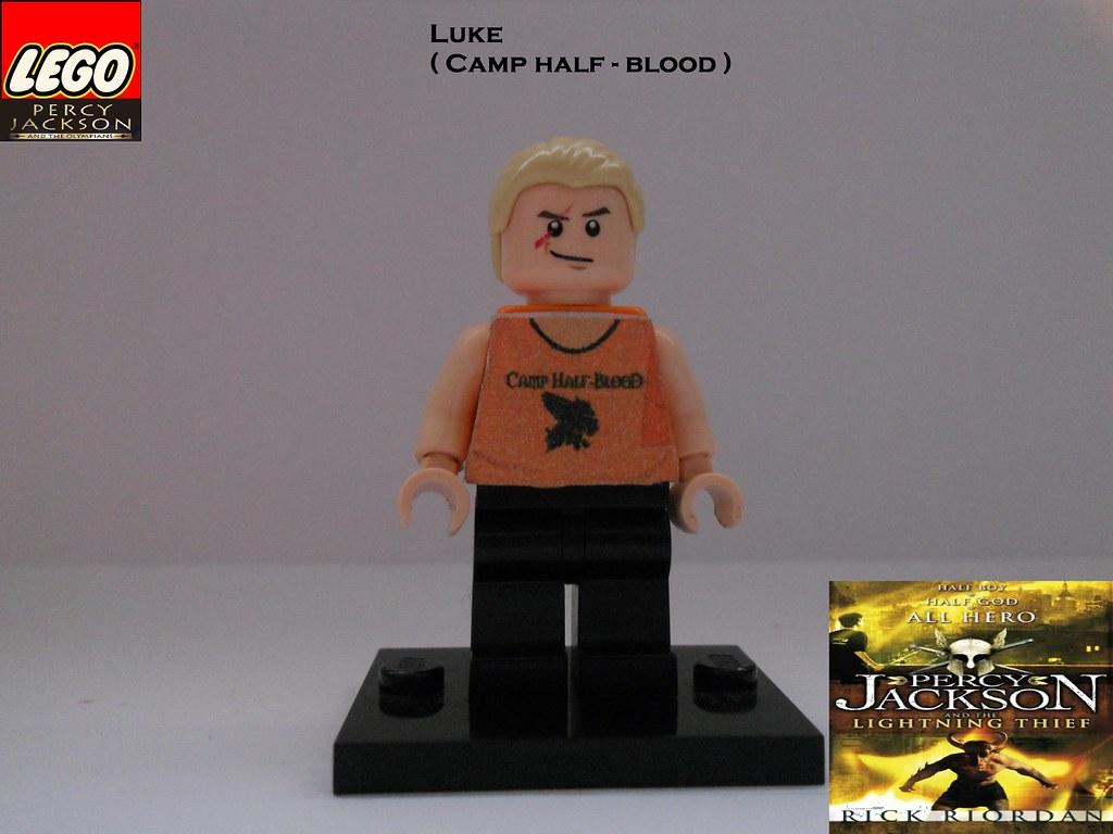 LEGO Luke ( Camp Half-Blood) by BC   LEGO Luke ( Camp Half ...  Lego Percy Jackson Luke