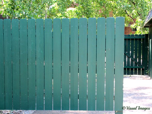 Happy Fence Friday - Green edition | by Visual Images1