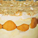 closeup banana pudding