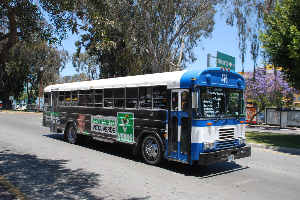 Blue Bird Bus >> Tijuana Bus | Blue Bird transit bus in Tijuana, Mexico. | So Cal Metro | Flickr
