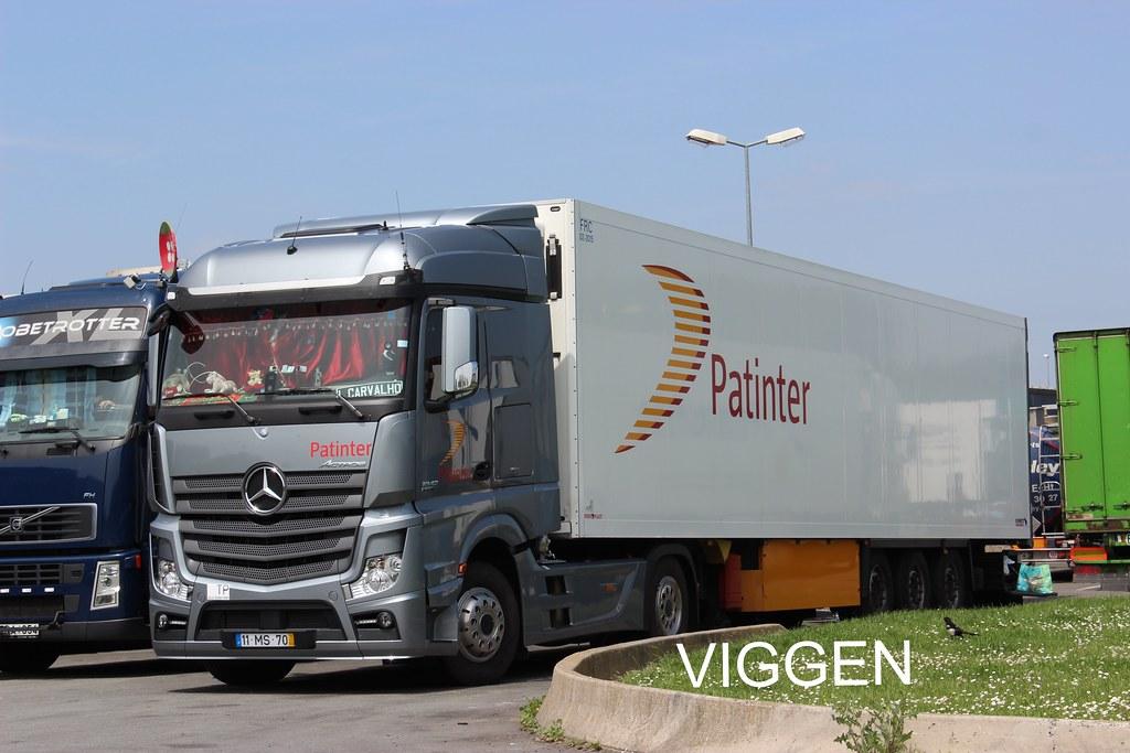 Patinter Portugal Mercedes Actros Mp4 Viggen R500
