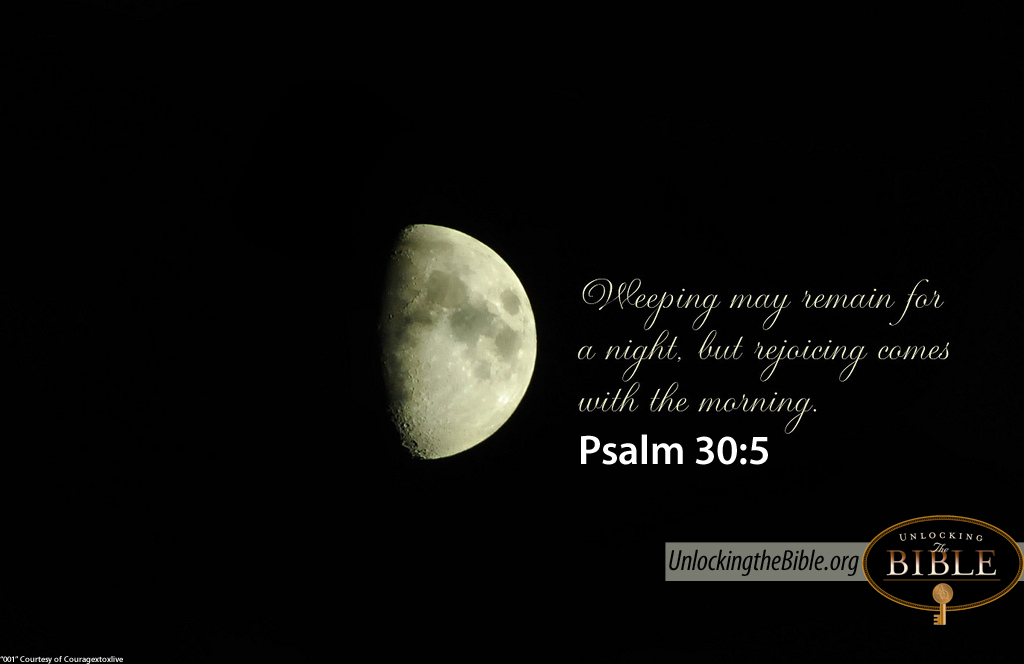 Image result for psalm 30:5