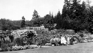 At Butchart's Garden near Victoria, B. C. 1935 | by OSU Special Collections & Archives : Commons