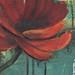 Mixed Media with Poppy - Detail