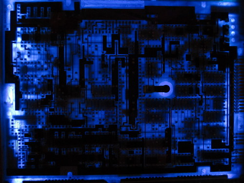 backlit circuitboard | by MissionControl
