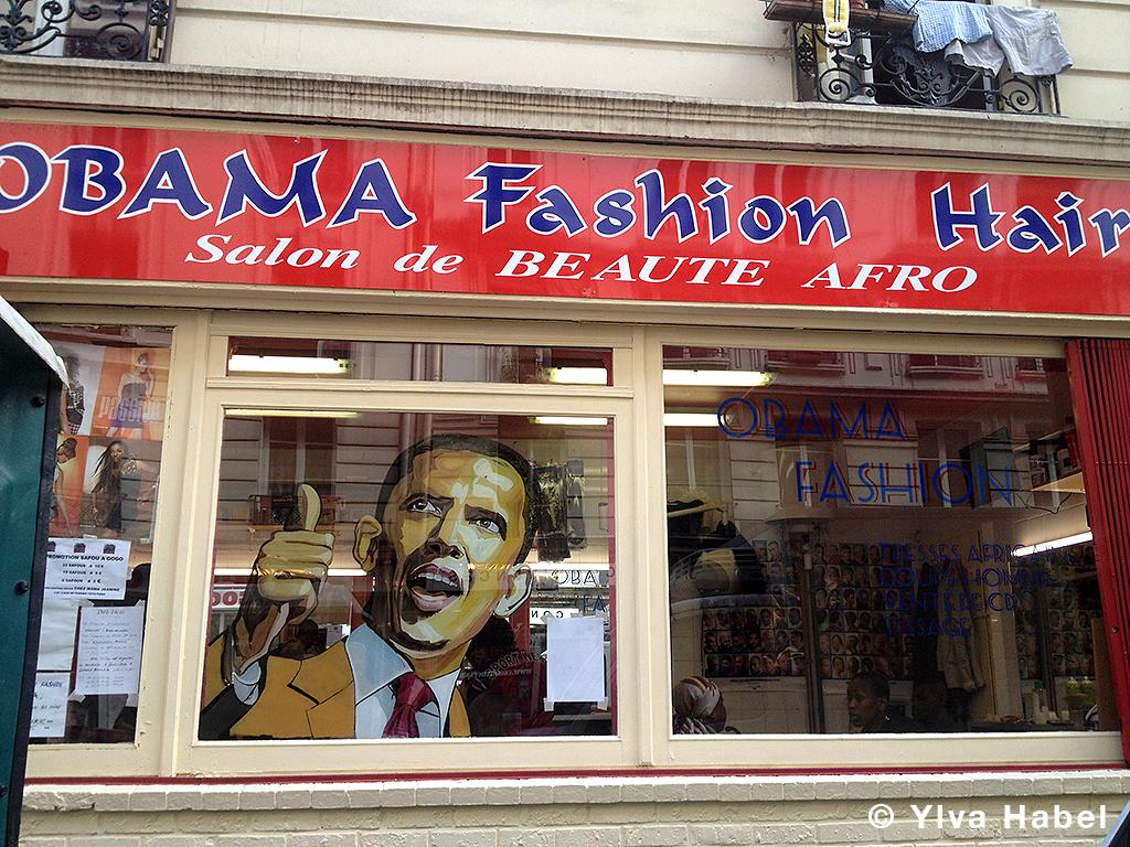 Obama Fashion Hair Salon De Beaut Afro Rue De Panama C Flickr