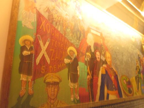 El mural de los poblanos puebla puebla raul pacheco for El mural de los poblanos