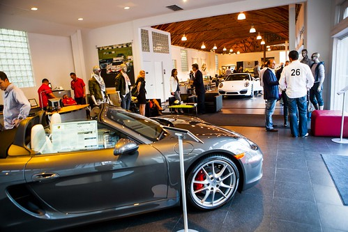 2013 Porsche Boxster Launch Event At Beverly Hills Porsche