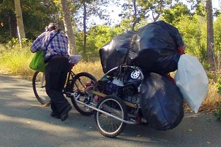 Hauling on the Guadalupe River Trail | by Richard Masoner / Cyclelicious