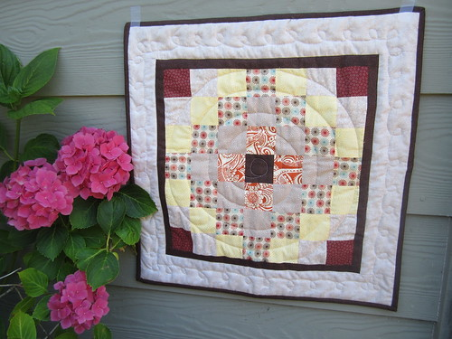 E's baby doll quilt | by Erin J. M.