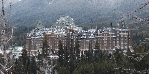 Fairmont Banff Springs Hotel View Of Fairmont Banff