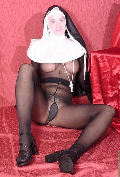 Encasement Pantyhose Nun 7B5509  Love Pantyhose -3705