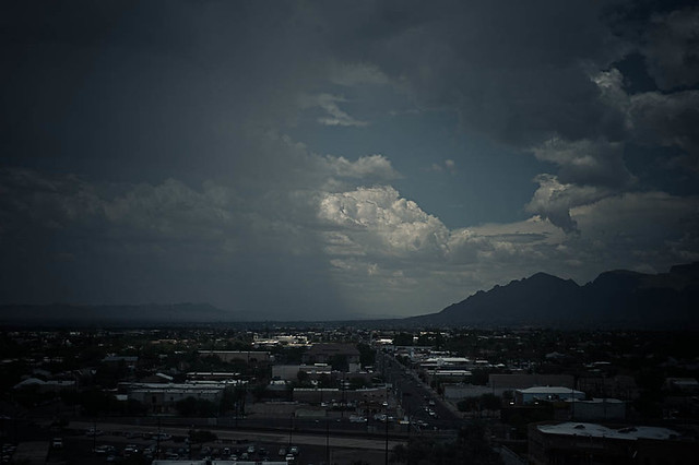 Microburst over Oro Valley