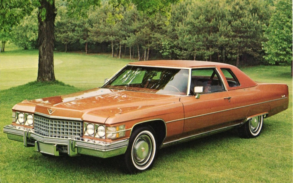 1974 Cadillac Coupe DeVille Alden Jewell Flickr