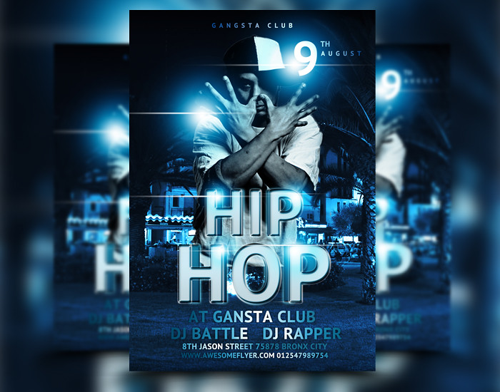 Hip Hop Party Club Flyer Psd Template Download This Club