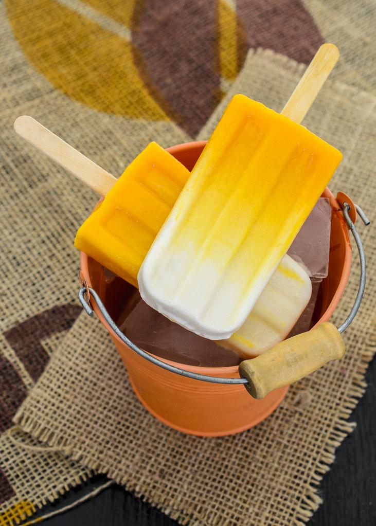Mango Vanilla Yogurt Popsicles Michelle Peters Jones