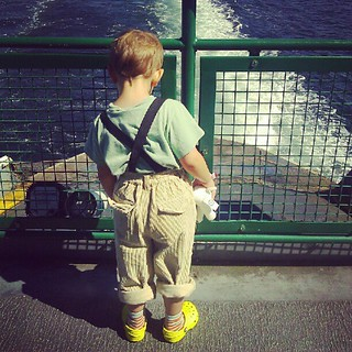 Suspenders on the ferry | by .ams