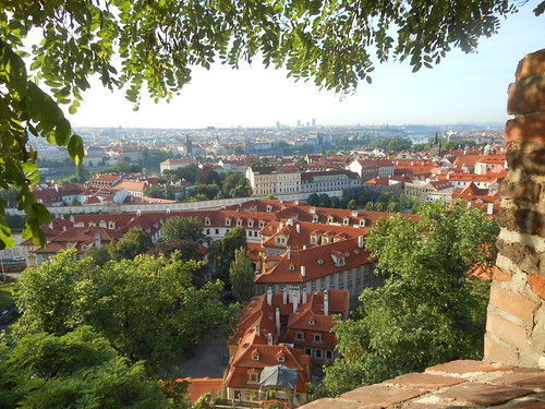 Early morning view of Prague from castle | by Royston Rascals