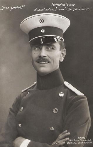 Heinrich Peer in Der Fidele Bauer