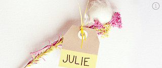 DIY Cake Pop Favor with Nametag | by Sweet Lauren Cakes