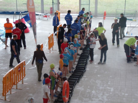 Ii triatlon infantil de valdemoro la ii edici n del for Piscina valdesanchuela