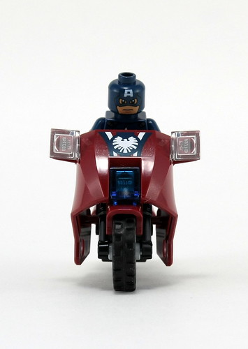 6865 Captain America's Avenging Cycle - Front | by fbtb