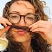 Hair moustache