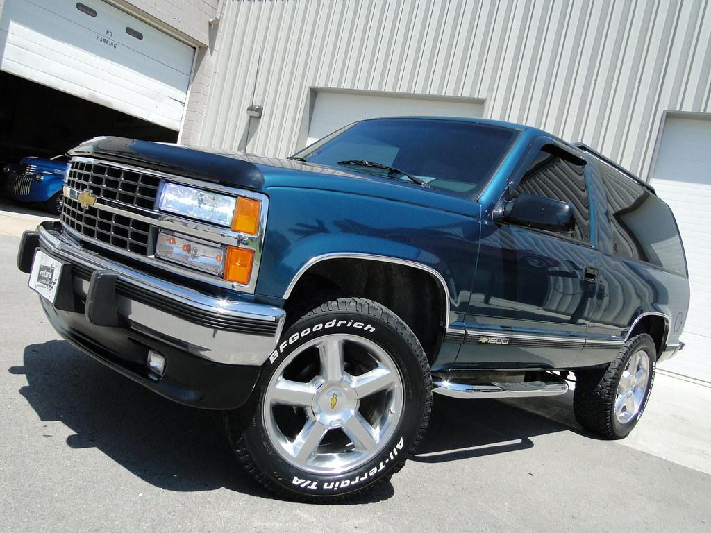 2 Door Tahoe New >> 1994 Chevy Blazer 2-Door 4x4 | Blue/Green w/ Gray Leather In… | Flickr
