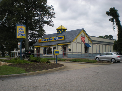 Established in in Lexington, KY, Long John Silver's operates as a fast-food chain specializing in seafood. The fast-food restaurant offers seafood lovers fish fillets, shrimp and popcorn shrimp, chicken tenders, and batter-free fish dishes.