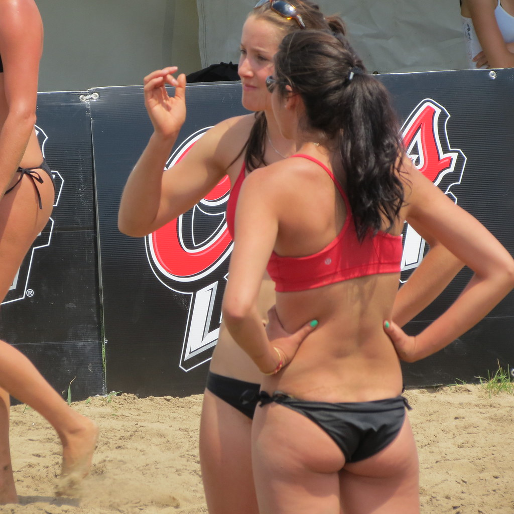 female volleyball players
