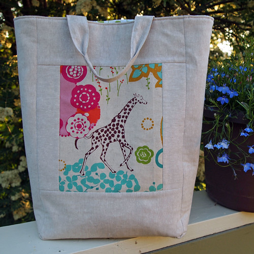 Amanda's Knitting Bag | by Spotted Stone Studio {Krista}